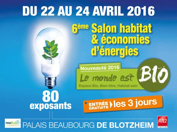Isonergy au 6 ème Salon de l'Habitat & des Economies à Blotzheim
