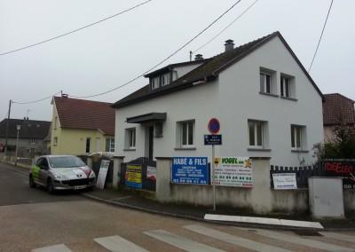 Isolation Thermique Extérieure en rénovation à Habsheim (68)