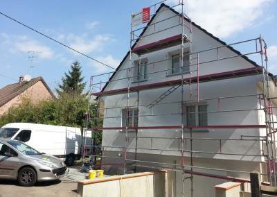 Ravalement de Façade à Wittelsheim (68)