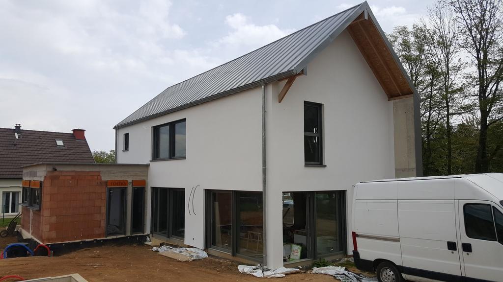 Isolation extérieure maison neuve à Mortzwiller (68)