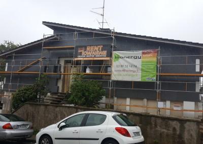 Isolation extérieure maison en rénovation à Belfort (90)