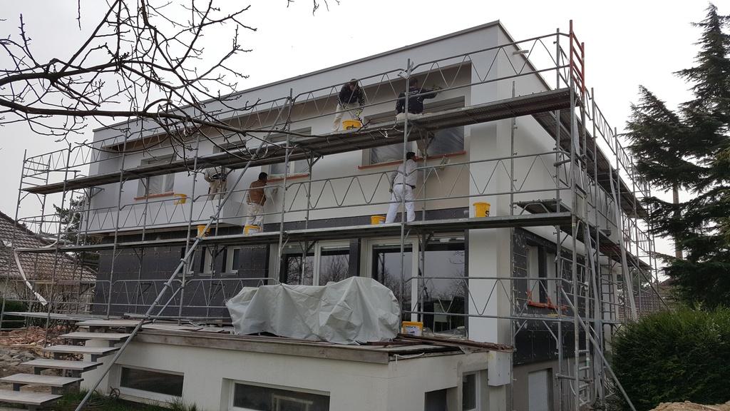 Isolation extérieure en rénovation à Zimmersheim (68)