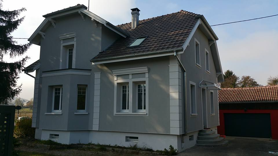 éléments décoratifs façade à Zillisheim (68)