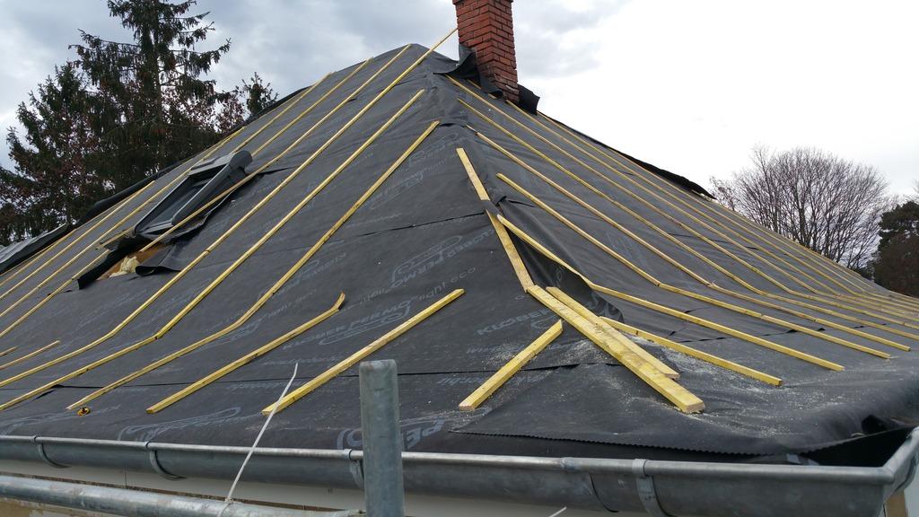 Isolation toiture par l'extérieur (sarking)