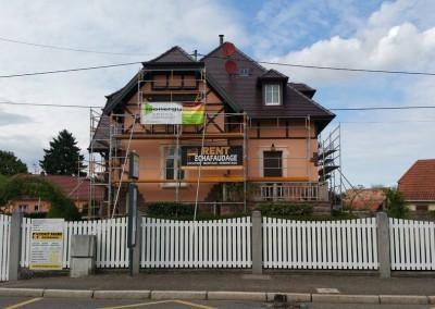 Ravalement de façade à Pulversheim (68)