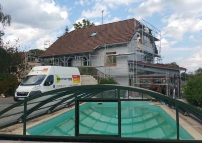 Ravalement de façade et traitement toiture à Allenjoie (25)
